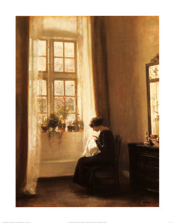 Girl-Sewing-in-an-Interior